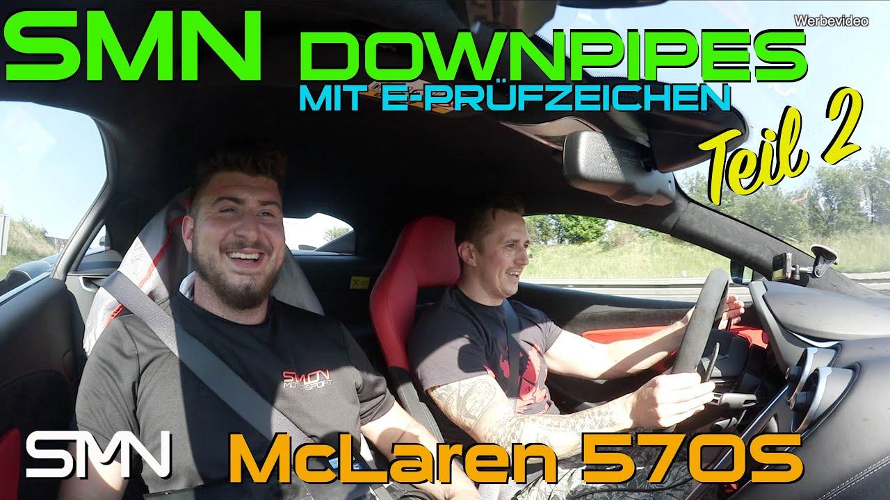 Downpipes mit E-Prüfzeichen für McLaren (Teil 2)