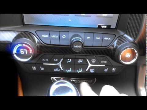 2015 Corvette Stingray Interior Review