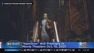 'hamilton' Coming To Movie Theaters