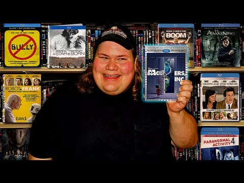 My Blu-ray Collection Update 2/9/13 : Blu ray and Dvd Movie Reviews
