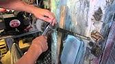 Замена передних стоек амортизатора на Сандеро, Логан - YouTube