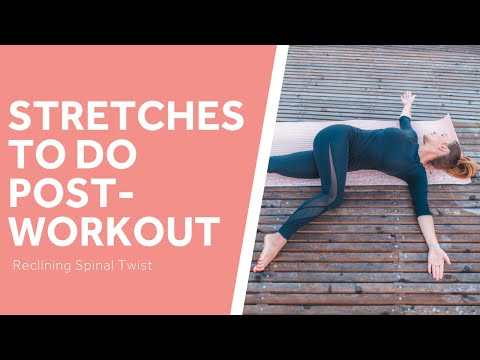 The Best Post-Workout Stretches: Reclining Spinal Twist