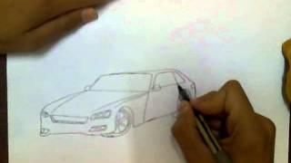 تعلم كيف ترسم سيارة على الطريقة السريعة.mp4