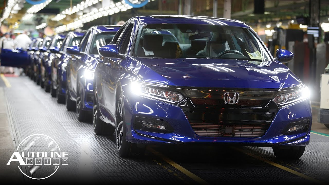 Honda Cuts Accord Production,