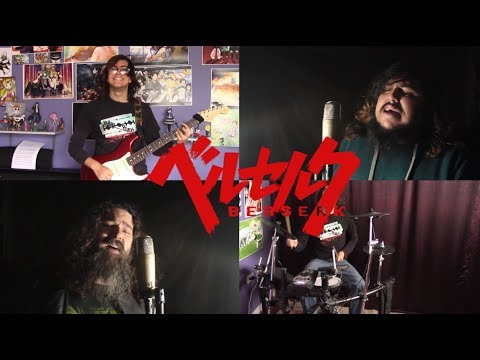 "Berserk (2017) Opening - ""Sacrifice"" by 9mm Parabellum Bullet【Band Cover ft. Grupo Kokoro 】"
