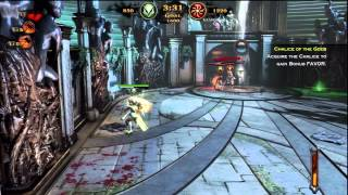 GOD OF WAR ASCENSION MULTIPLAYER - MAUL OF ZEUS