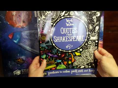 Quotes from Shakespeare Poster book from Usborne and Kane Miller