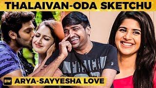Arya - Sayyeshaa Love Matter தெரியாம நா... - Sathish Reveals the Inside Story! | Megha Akash | MY451
