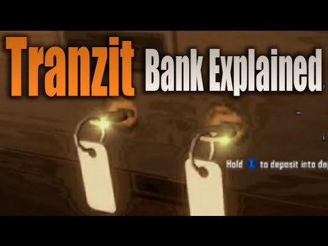 Black Ops 2 Zombies Store Money in Bank Tranzit (BO2 Bank Tranzit Tutorial / Walkthrough Green Run)