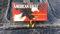Shooting/Review American Eagle 9mm Luger 124 Grain FMJ Ammo