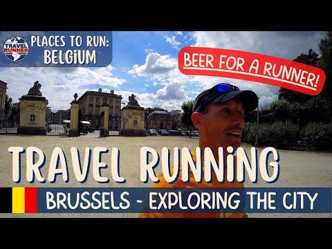 """Running in Brussels, BELGIUM - """"A little beer for a runner!"""" (Courir à Bruxelles)"""