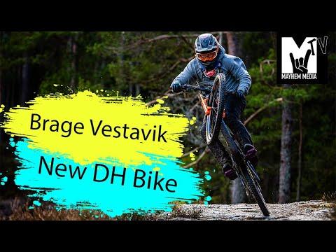 MayhemTV S1 E3 Brage New DH Bike