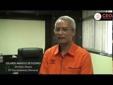 CEO Message PT Pos Indonesia ( Persero )