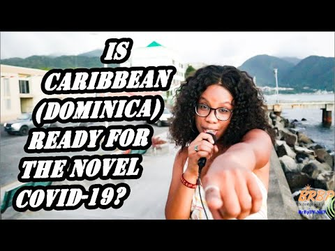 IS CARIBBEAN & DOMINICA READY FOR NOVEL COVID-19?- BRBP-TV STREET SHOUT INTERVIEW