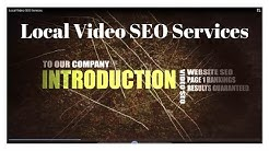 Local Video SEO Services