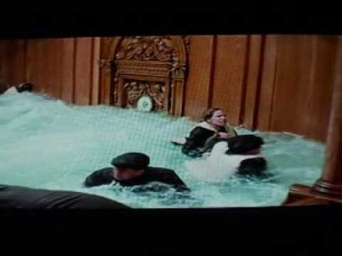 titanic - grand staircase flooding