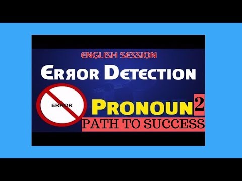 PRONOUNS - Learn English Grammar for CDS,SBI, IBPS , SSC, Police ,BBA, CLAT,CAT  -Pronoun 1