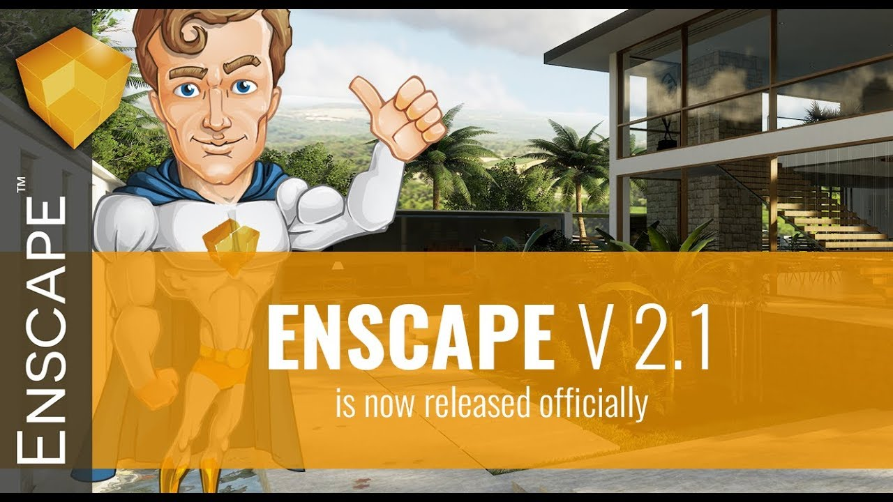 Enscape 2 1 - Rendering Real Time e VR per Rhino Revit e