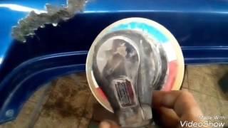 видео Как отремонтировать бампер на Шевроле Лачетти седан?
