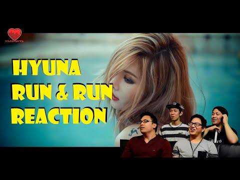 [4LadsReact] Hyuna - Run & Run MV Reaction