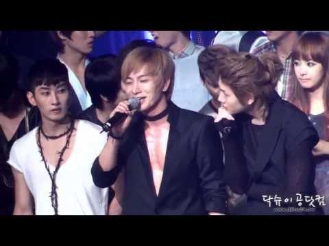 [Music Bank] Super Junior first 4jib winning + talk + encore [HQ]