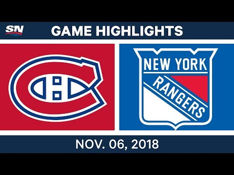 NHL Highlights | Canadiens vs. Rangers – Nov. 6, 2018