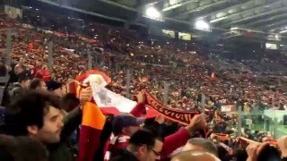 (Inno della Roma) Roma vs Real Madrid 17/02/2016 Stadio Olimpico Champions League