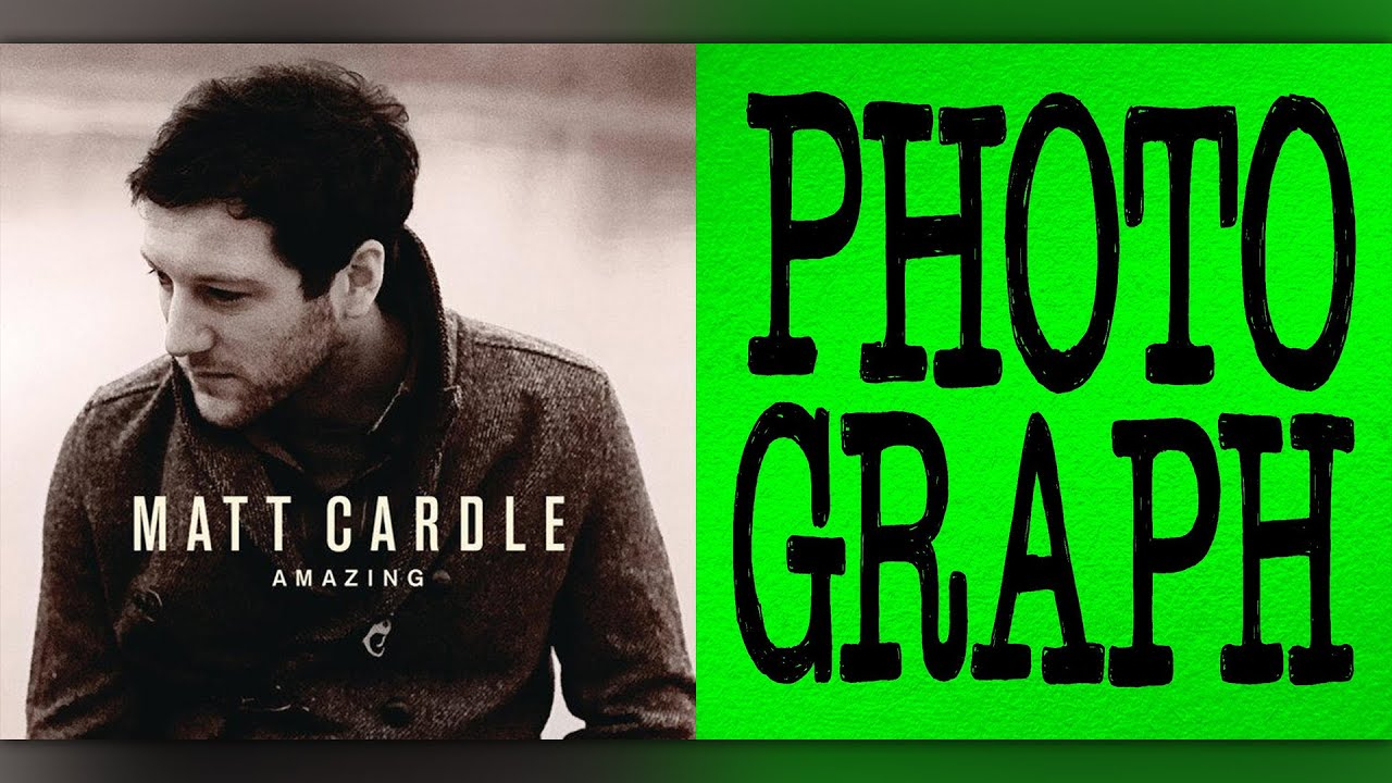 """Did Ed Sheeran plagiarise Matt Cardle's """"Amazing"""" with his song Photograph?  (Comparison / Mashup)"""