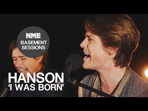 Hanson, 'I Was Born' - NME Basement Sessions