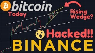 "BINANCE HACKED!! | $40,000,000 STOLEN! | ""Unplanned Maintenance"", Coincidence? 