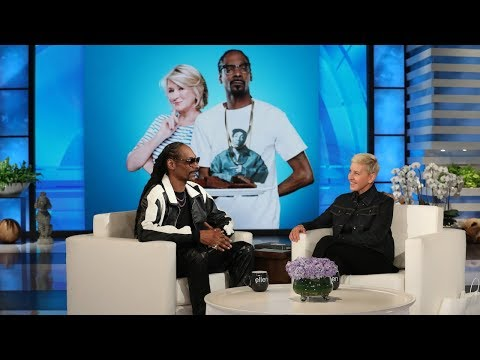 Snoop Dogg on Staying at Martha Stewart&39;s House and Teaching Ellen a New Word