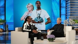 Download Snoop Dogg on Staying at Martha Stewart's House and Teaching Ellen a New Word Mp3 and Videos