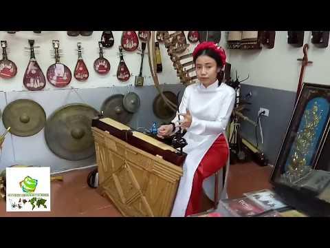 Amazing! Beautiful Vietnamese Girl Playing