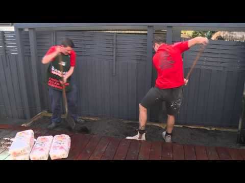 How To Install An Outdoor Screen Panel - DIY At Bunnings