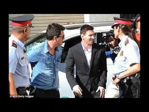 LIONEL MESSI ARRESTED!!! - YouTube