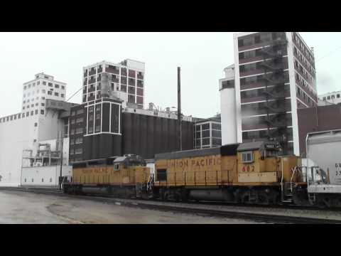 Downtown Railfanning Cedar Rapids, IA