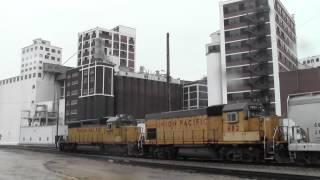 Downtown Railfanning Cedar Rapids, IA