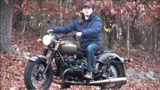 2012 Ural Solo M70 Limited Edition Demonstration at Ural of New England, Boxborough MA