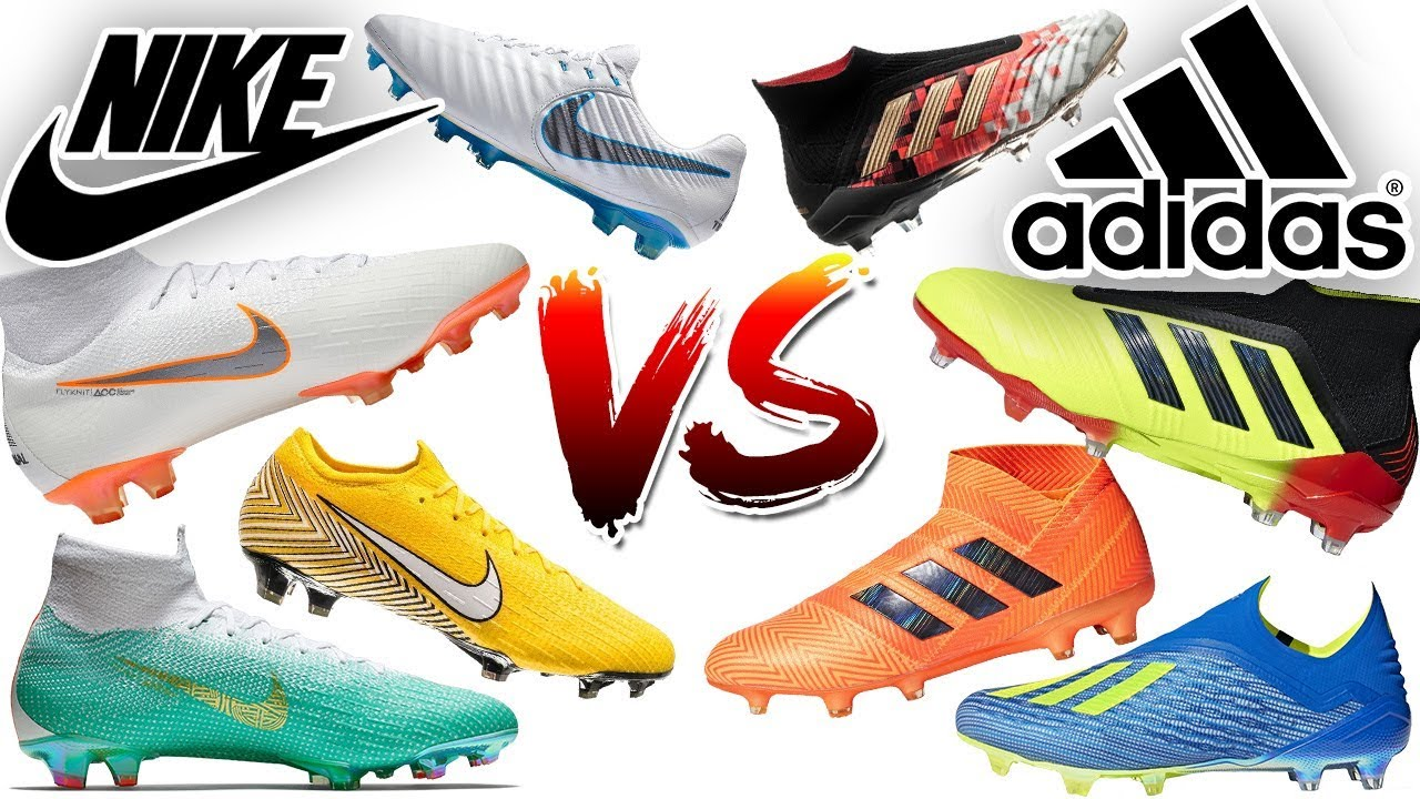 Nike vs adidas! Neymar, Ronaldo or Messi Who Has The Best Boots?
