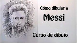 Como dibujar a Messi. Tutorial paso a paso. Enlace en la descripción del encaje.