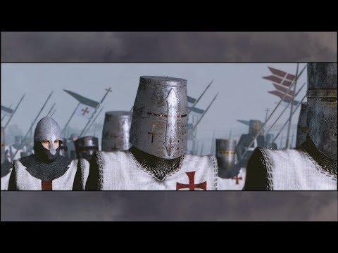 BATTLE OF MONTGISARD 1177 I KING BALDWIN'S Decisive Victory Medieval Kingdoms Mod |