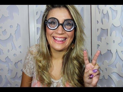 6967b5aea1572 Maquiagem para quem usa óculos! Por Bianca Andrade - YouTube