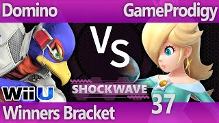 SW 37 Wii U - Domino (Falco) vs GameProdigy (Rosalin) - Winners Bracket
