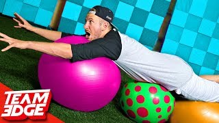 Ball Surfing Challenge!!