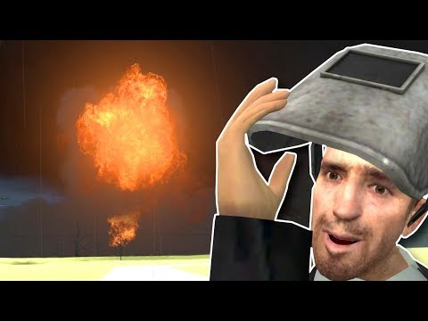 Stopping A Tornado With A NUKE! - Garry's Mod Gameplay & Survival Roleplay