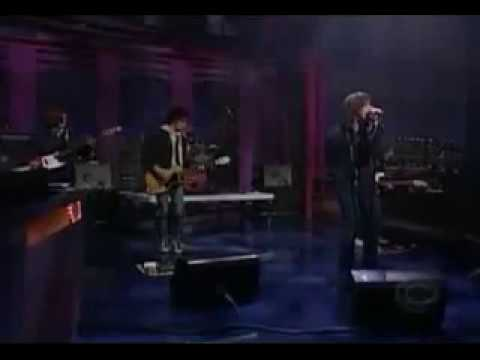 TAKE IT OR LEAVE IT - THE STROKES - LIVE LETTERMAN