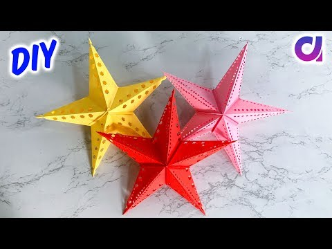 How to make Paper Star | Paper Crafts | Home Decor 2019 Ideas | Artkala