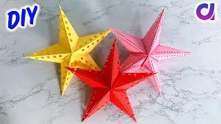 How to make Paper Star   Paper Crafts   Home Decor 2019 Ideas   Artkala