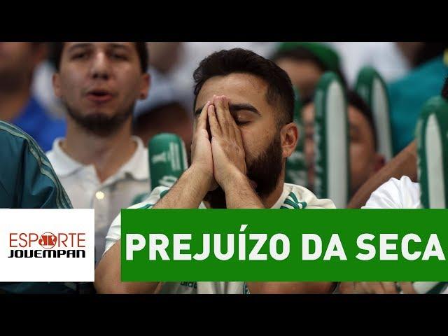 OLHA quanto o Palmeiras deixou de ganhar por SECA em 2017!