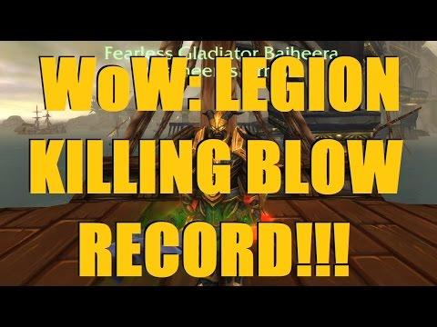 Bajheera - INSANE NEW LEGION KILLING BLOW RECORD!!! - World of Warcraft Legion PvP